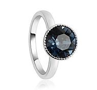 Women's Fashion A soft spot for Crystal Ring Made with Swarovski Elements