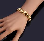 Женский Браслеты-цепочки и звенья Браслет цельное кольцо Браслет Мода бижутерия Платиновое покрытие Позолота Бижутерия Назначение Свадьба