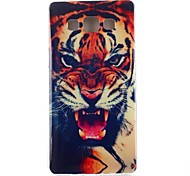 Fierce Tooth Pattern TPU Soft Case for Samsung Galaxy A3/A3000