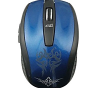 ATake BMHA-915 Four Buttons Wireless 2.4G Bluetooth3.0 Mouse 1600PDI(Assorted color)