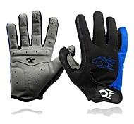 WEST BIKING® Blue Red Black Full Finger Bike Bicycle Mittens Men Spring Autumn Warm Cycling Sports Gloves