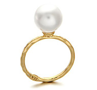 New Simple Wld Pearl Ring