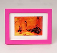 Personalized Framed Photo 10 inches Colourful Wooden Frame with Hanging Hook 1 Photo