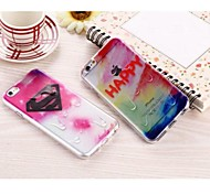 TPU Super Thin Transparent Gradient Color Protection Shell for iPhone 5/5S(Assorted Colors)