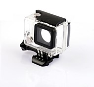SMJ G-724 Professional 30M Waterproof  LCD Version Camera Housing Case for GoPro 3+/4