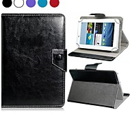 "Faux Leather Stand Flip Case with Magnetic Closure for 8"" Universal Tablet PC (Assorted Colors)"