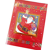 Stereo Handmade Christmas Card with Music(Random Color)