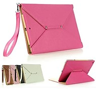 Solid Color PU Handbag  Full Body Leather Case with Stand for IPad Mini 1/2/3(Assorted Colors)