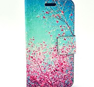 COCO FUN® Sky Red Floral Pattern PU Leather Full Body Case  for Motorala Moto G