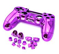 chapado partes de repuesto controlador PS4 para controlador PS4