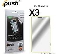 High Transparency Mirror LCD Screen Protector for Nokia 520 (3 Pieces)