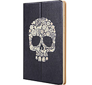 "Skull PU Leather Tablet Holster Flat Panel Protective Cover for 7.9"" MiPad Tablet"