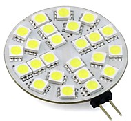 Dekorativ Bi-Pin-Lampen G4 3 W 220 LM K 24 SMD 5050 Warmes Weiß/Kühles Weiß DC 12/DC 24 V