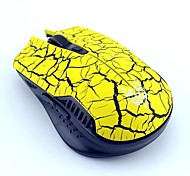 JITE JT3229 Crack Feeling 5 Buttons and 1 Wheel 2.4G Wireless Gaming Laser Mouse DPI2000