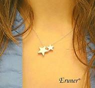 Eruner® Fashion Star Alloy Pendant Necklace