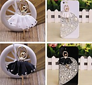 Ballet Dancing Girls Embedded Rhinestone Handmade DIY Craft Material(Assorted Color)