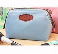 Aufbewahrung für Make-Up Kosmetik Tasche / Aufbewahrung für Make-Up einfarbig 16*9*12cm6.2*3.5*4.7inch Blau / Rosa