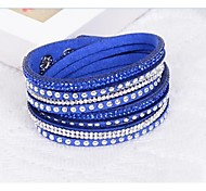 Unisex Chain/Fashion Bracelet Resin Rhinestone