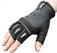High Quality Windproof Protective Short Half Finger Racing Cycling Bike Sports Glove Motocross Leather Motorcycle Gloves