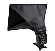 (20 x 30 cm) pieghevole softbox luce modificatore su - fotocamera