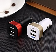 KUCIPA 2-Port USB Car Charger for iPhone/Samsung and Other Cellphone(5V,2A)