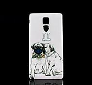 pugs Muster Hartschalenetui für Samsung Galaxy Note 4