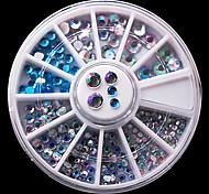 1 комплект Драгоценные камни,Разные цвета
