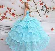 Barbie Doll Fantasy Party Dress Sky Blue