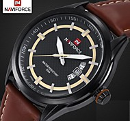 Men's Dress Watch Luxury Brand Design Quartz Watches Miyota Movt Genuine Leather Band Waterproof (Assorted Colors) Cool Watch Unique Watch