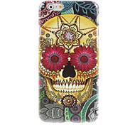 Pattern Skull Design Hard Case for iPhone 6