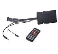 sostenedor universal del coche con el cargador del coche del usb, mp3 transmisor FM para los teléfonos móviles