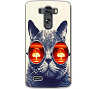 Cat Design Hard Case for LG G3