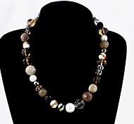 Fashion Sweater Chain Strand Necklaces Random Color