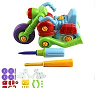 Children's 35-Part Assembling Motorcycle Toy