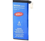 High Capacity 3.7V Nominal Capacity 3030mAh Li-ion Battery for IPHONE 4G