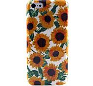 Blume auf Leopard Hintergrundmuster TPU Fall für iphone 5c