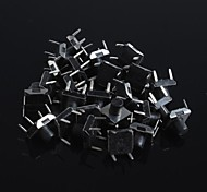 6x6x4.5mm Micro Switch Button Touch Switch Small Key-Press Switch(20Pcs)