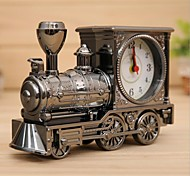 Fashion Home Office Decor Vintage Railway Train Steam Engine Desk Clock
