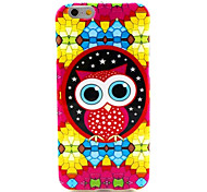 Colorful Bird Pattern Silicone Soft Cover and Mini Diaplay Stand for iPhone 6