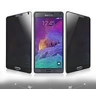 beboncool anti-glare gehard glas screen protector met een reinigingsdoekje voor de Samsung Galaxy Note 4