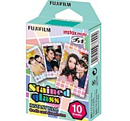 Fujifilm Instax mini-filme colorido instantâneo - vitrais