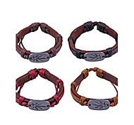 bracciali in pelle modello in metallo (colore casuale)