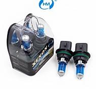 HM® plasma xenón bombillas blancas 9004 12v 100 / 80w lámpara halógena de faros (un par)