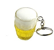 Creative Full Cup of Beer Style Keychain