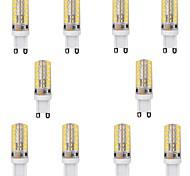 10 stuks G9 4 W 48 SMD 2835 450 LM 2800-3200 K Warm wit Maïslampen V