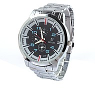 Men's Sports Fashion Watches  Circular Strip China Movement Watch(Assorted Colors)