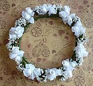 Women's Fabric Headpiece - Wedding Wreaths
