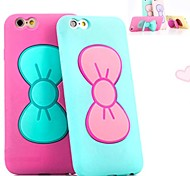 Butterfly Knot Bracket Soft Case for iPhone 6 (Assorted Colors)