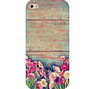 Flower Pattern Hard Back Case for iPhone 6