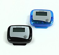 "0.9 ""pedometro led - blu + nero (2 pc / 1 x AG10)"